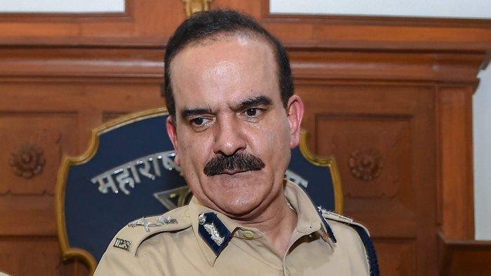 Former Mumbai police commissioner Param Bir Singh. Credit: PTI File Photo