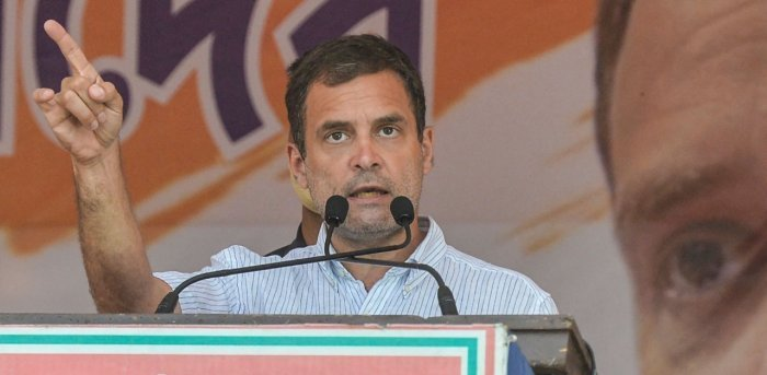 Congress leader Rahul Gandhi. Credit: PTI Photo