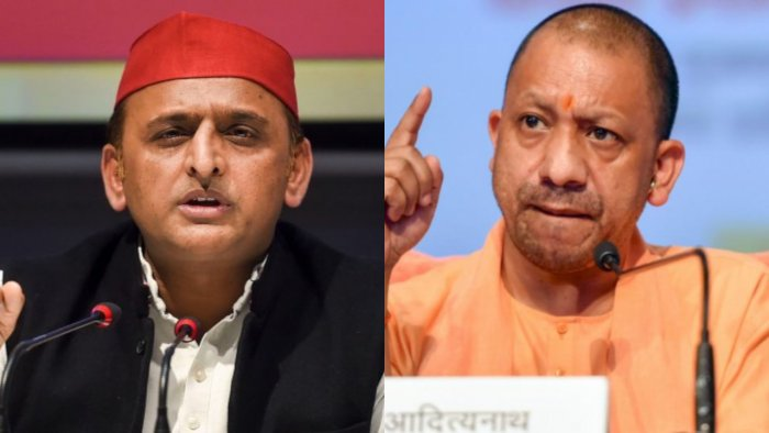 Akhilesh Yadav (L) and Yogi Adityanath (R). Credit: PTI Photo