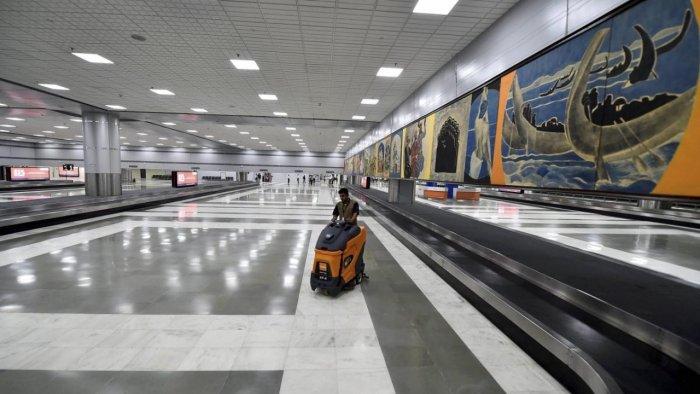 Delhi airport. Credit: PTI File Photo