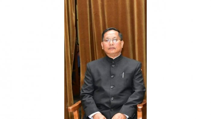 S Ibocha Singh, Manipur State Information Commissioner, who died on Sunday due to Covid-19. Credit: Manipur State Information Commission