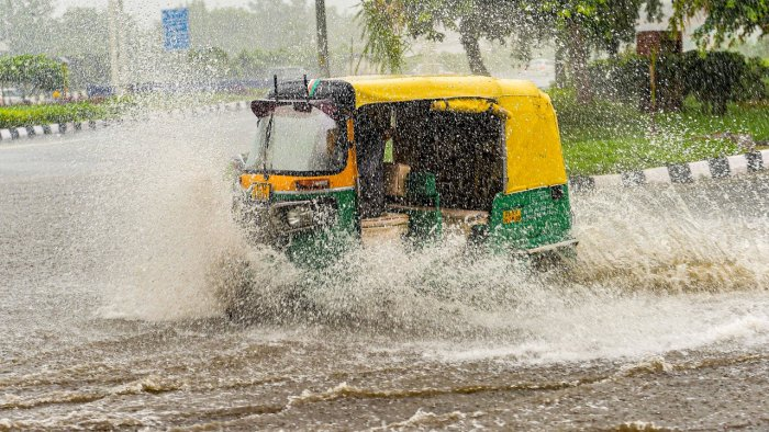The city received 7 mm rainfall in the last 24 hours, the IMD added. Credit: PTI File Photo