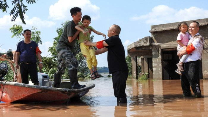 More than 440,000 people have now been affected by floods in six cities across the province. Credit: AFP File Photo