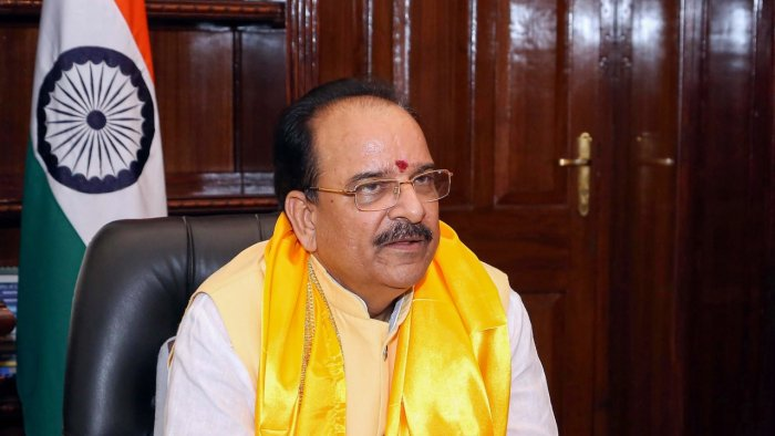 Minister of State for Defence Ajay Bhatt. Credit: PTI Photo