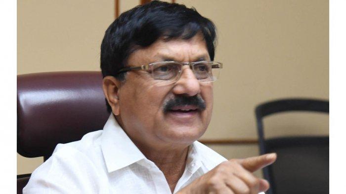 Karnataka Home Minister Araga Jnanendra. Credit: DH Photo
