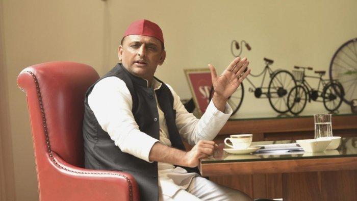 Samajwadi Party chief Akhilesh Yadav. Credit: PTI Photo