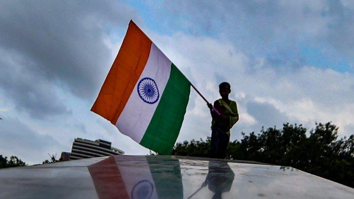 National flag of India. Credit: PTI Photo