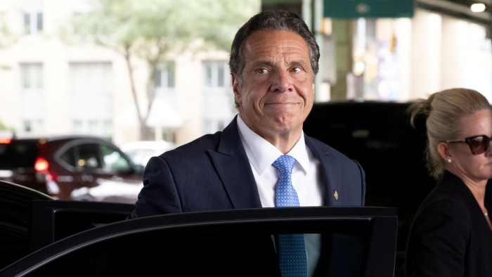 New York's soon-to-be ex-governor Andrew Cuomo. Credit: Reuters Photo
