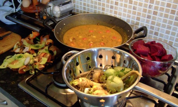 People can be more mindful of ingredients when preparing meals at home.