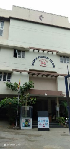 Baldwin Methodist College, Hosur Road, reopened with just 10 students.