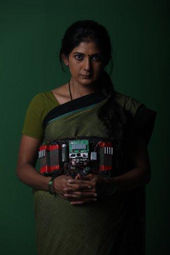 Yajna Shetty in the film
