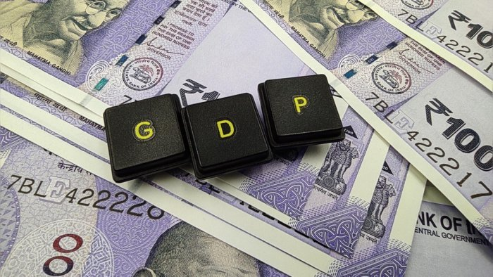 While the first quarter number looks impressive, but on a perusal, the GDP is still lower than what it was in the last pre-pandemic first quarter of 2019-20. Credit: iStock Photo
