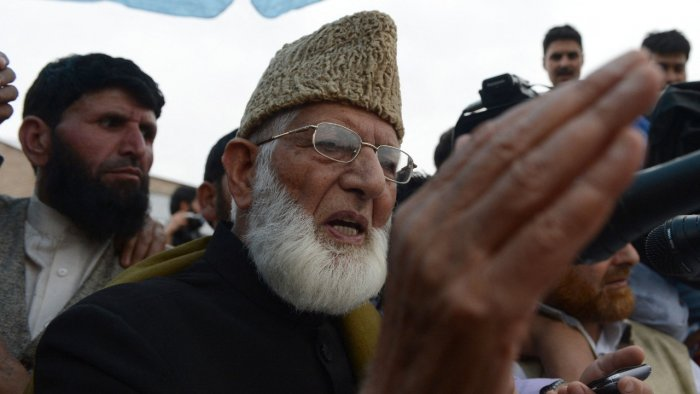 Indian authorities imposed a security clampdown in disputed Kashmir late September 1, 2021, after the death of Geelani at the age of 92, residents said. Credit: AFP Photo