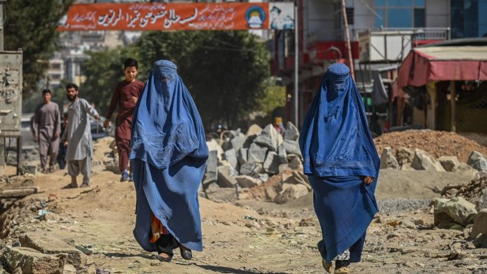 Afghan women's number one fear is not being able to work, and losing access toeducation is a close second. Credit: AFP File Photo