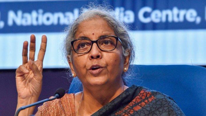 Finance Minister Nirmala Sitharaman. Credit: PTI Photo