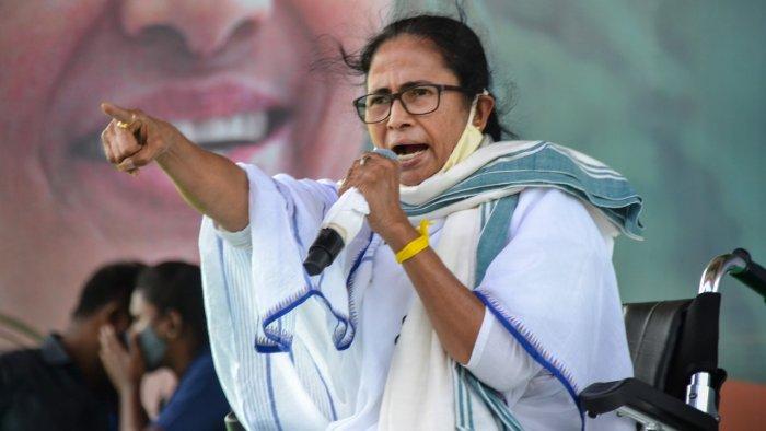 West Bengal Chief Minister Mamata Banerjee. Credit: PTI File Photo