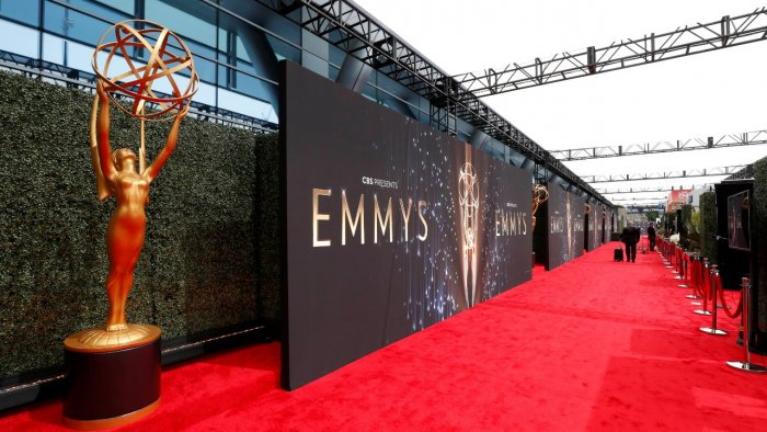 The 73rd Primetime Emmy Awards in Los Angeles. Credit: Reuters Photo