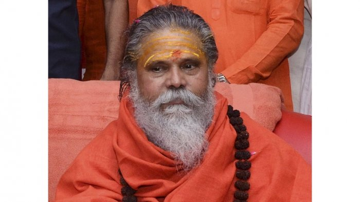The Mahant had accused three disciples of his of 'harassing' him. Credit: PTI File Photo