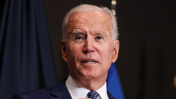 Vaccines had already landed in 100 countries, Biden said, adding he would announce additional commitments on Wednesday. Credit: Reuters file photo
