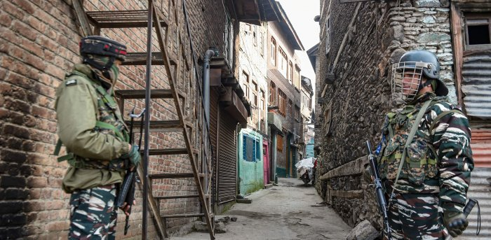 Over 100 militants and 21 security forces and police personnel have been killed in Jammu and Kashmir since the beginning of this year. Credit: PTI Photo