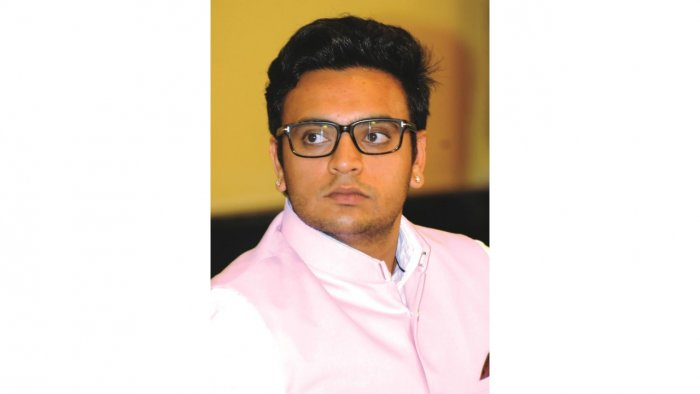 Yaduveer Krishnadatta Chamaraja Wadiyar.  Credit: DH Photo