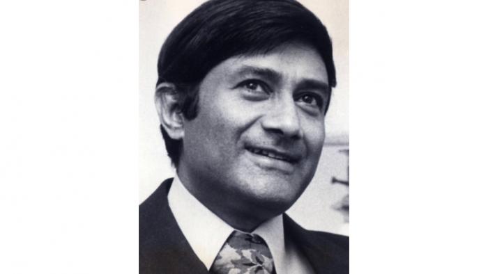 Actor Dev Anand. Credit: Twitter/@rajbansal9