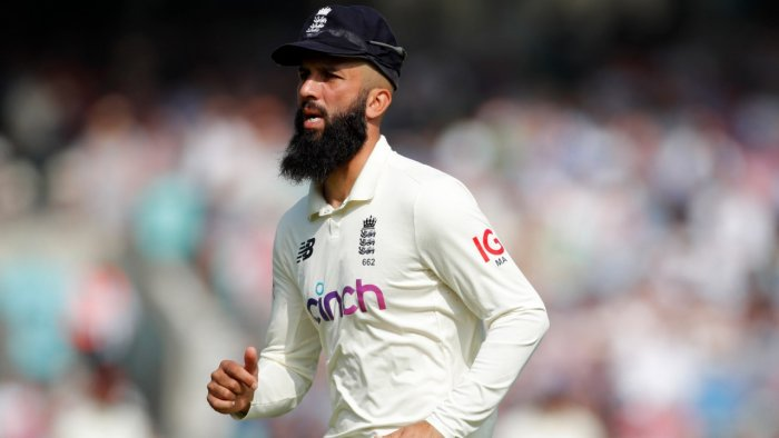 England's Moeen Ali. Credit: Reuters Photo