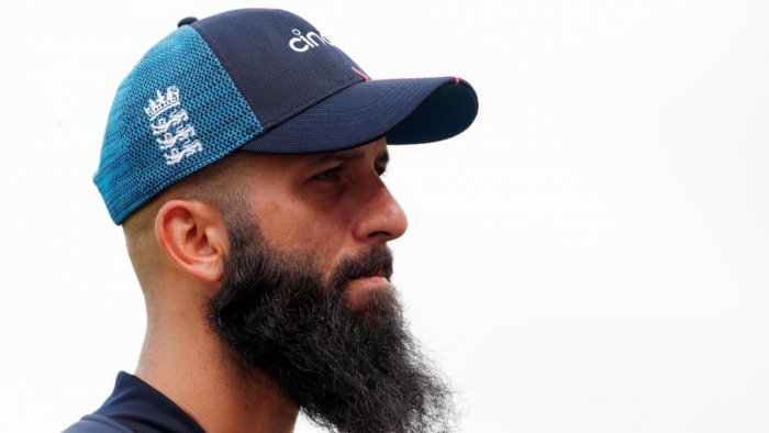 England's all-rounder Moeen Ali. Credit: Reuters Photo