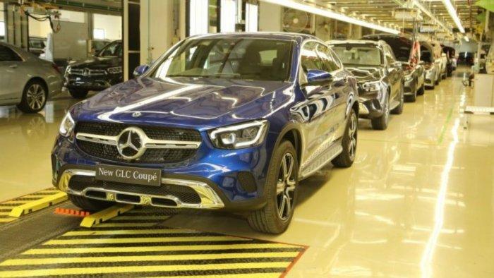 Mercedes-Benz GLC Coupe. Credit: Special Arrangement