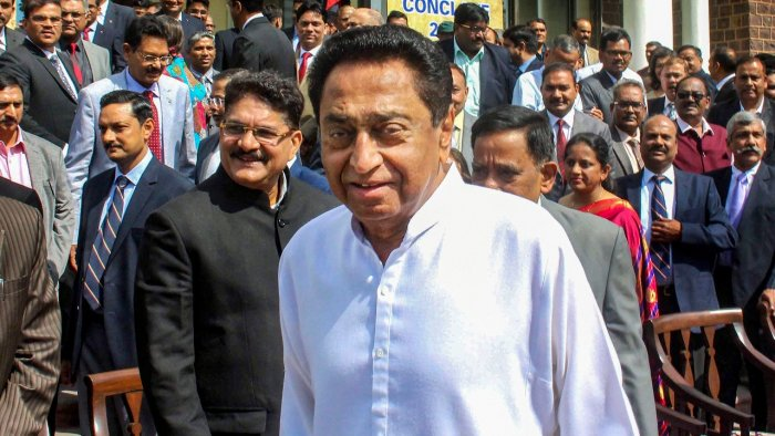 Nath is scheduled to leave for Delhi on Sunday. Credit: PTI File Photo