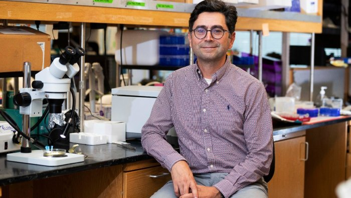 Professor Ardem Patapoutian of the Department of Neuroscience at Scripps Research, who won the 2021 Nobel Prize for Physiology or Medicine. Credit: AP/PTI Photo
