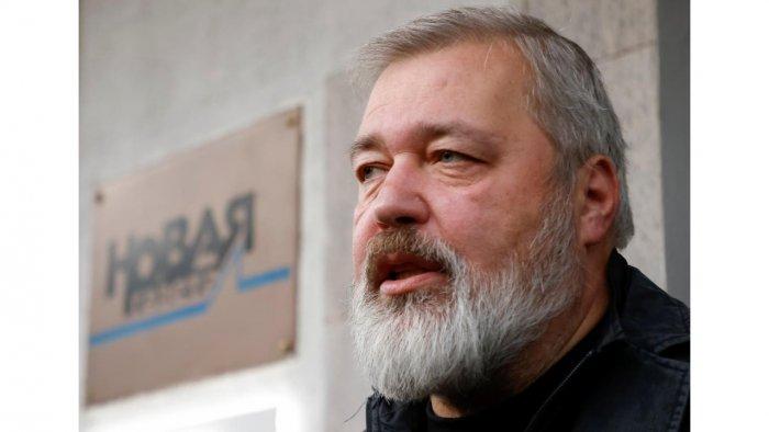 Russian investigative newspaper Novaya Gazeta's editor-in-chief Dmitry Muratov, one of 2021 Nobel Peace Prize winners. Credit: Reuters Photo