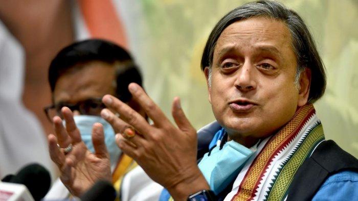 Congress MP Shashi Tharoor. Credit: PTI Photo
