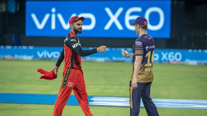 File Photo of Virat Kohli and Eoin Morgan. Credit: IPL20/BCCI