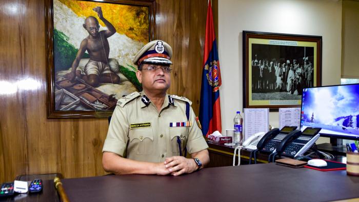Gujarat-cadre IPS officer Rakesh Asthana. Credit: PTI Photo