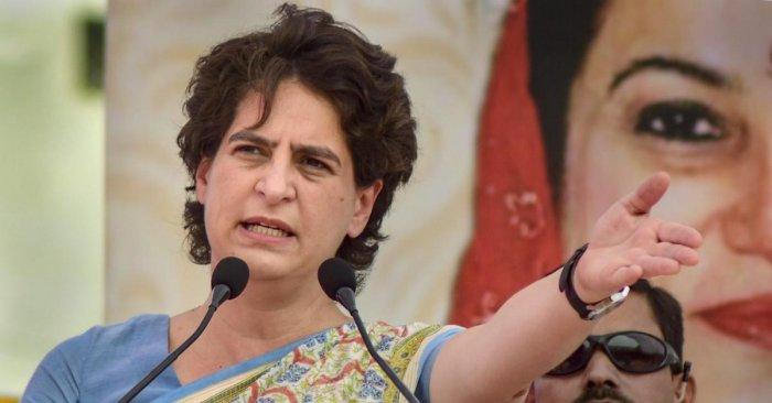 Priyanka Gandhi Vadra. Credit: PTI Photo
