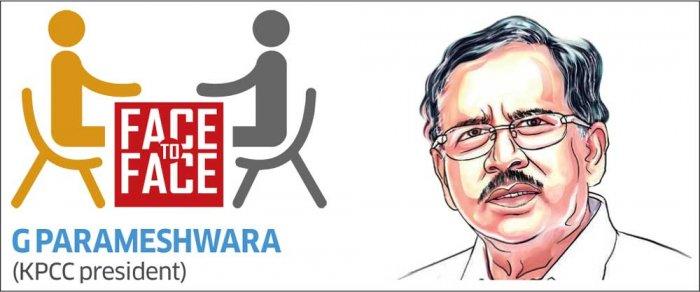 G Parameshwara, KPCC President