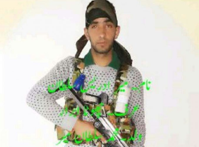 Idrees Mir, who was posted in the Jammu and Kashmir Light Infantry (JAKLI) unit, joined Hizb-ul on Sunday, police confirmed. Picture courtesy Twitter