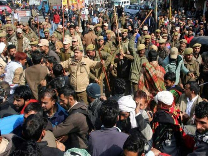 The horrific gang-rape and brutal murder of an eight-year-old nomad girl in Kathua district has not only put the restive Jammu and Kashmir state on edge, it has sparked anger and outrage across the country.  PTI file photo