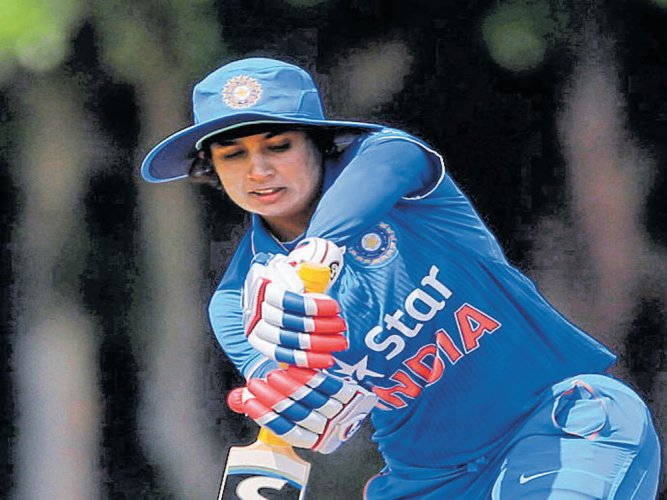 Skipper Mithali Raj led from the front with an unbeaten 74.
