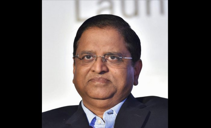 In picture: Economic Affairs secretary Subhash Garg. PTI file photo.