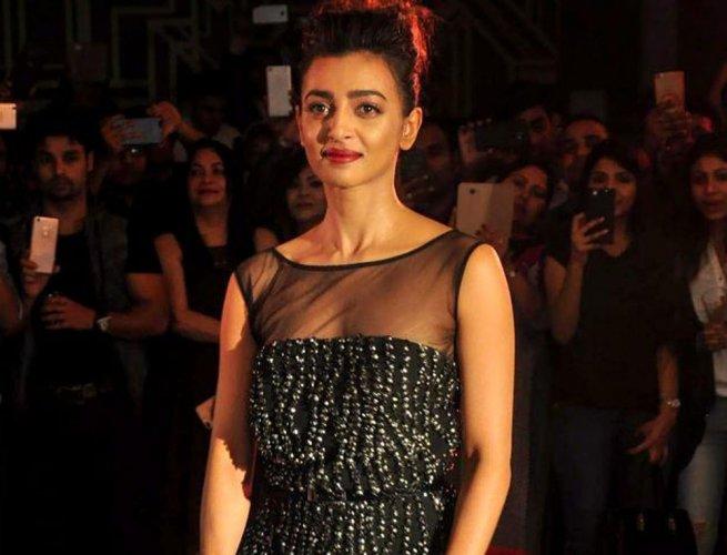 Actor Radhika Apte, PTI file photo