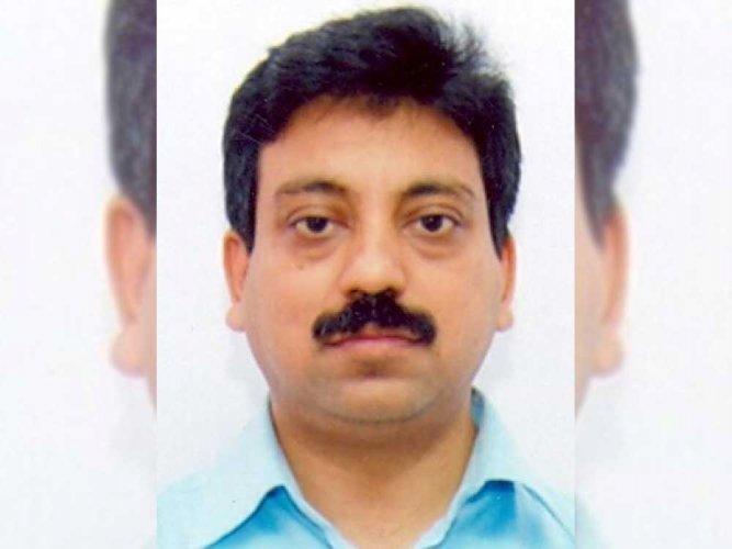 BWSSB Chairman Tushar Girinath. DH photo.