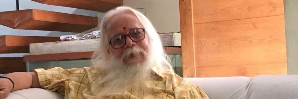 Former ISRO scientist Nambi Narayanan. (DH Photo/K Krishnakumar)