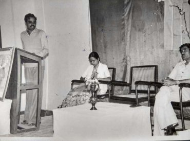 Ananth Kumar's ABVP days: the formative years. Pic Courtesy: RSS