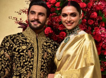 Deepeka Padukone and Ranveer singh Wedding Reception at Leelapalace in Bengaluru on Wednesday. DH photo