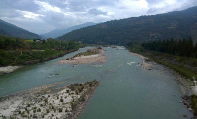 View from the Punakha Dzong