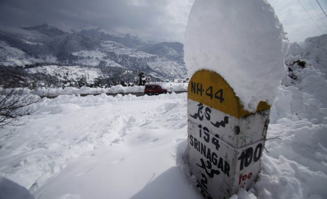 Many parts of northern India received snowfall in recent days