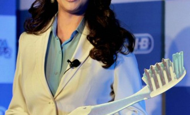 Madhuri Dixit during the launch of Smile India...