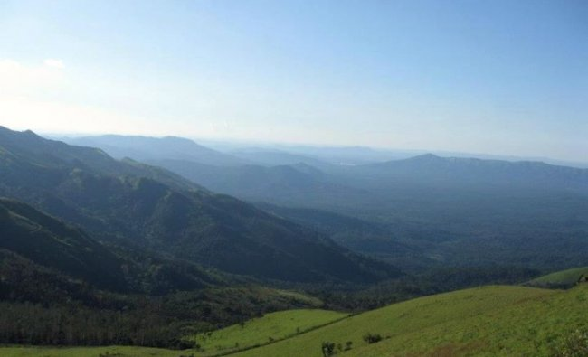 MullaiyanaGiri, the highest peak in Karnataka, in the Chandradrona mountain range of western ghats